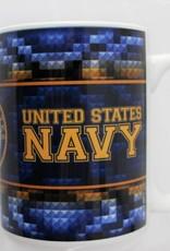 Navy 15 oz Mug