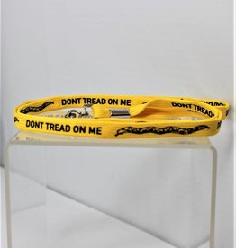 Don't Tread On Me Yellow Lanyard