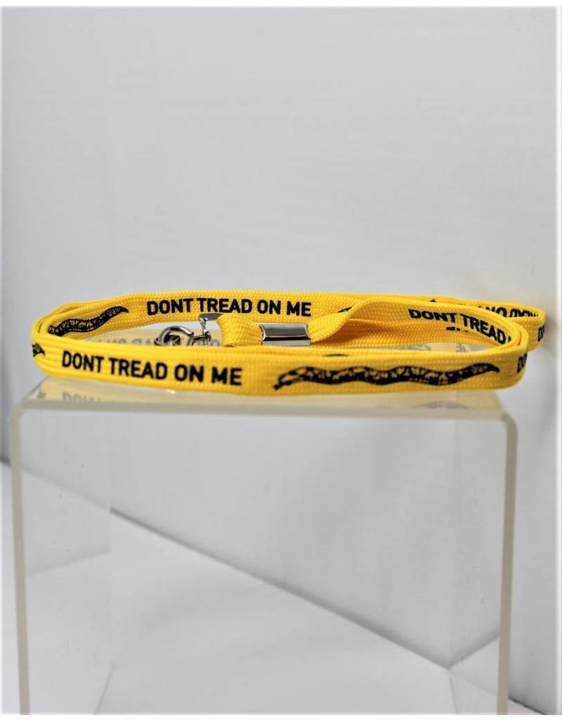 Don't Tread On Me Yellow Lanyard