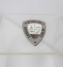 Operation Desert Calm/Haven/Thunder/Storm Lapel Pin