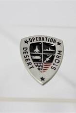 Operation Desert Calm/Haven/Thunder/Storm Lapel Pin