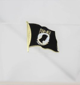 POW/MIA wavy flag pin