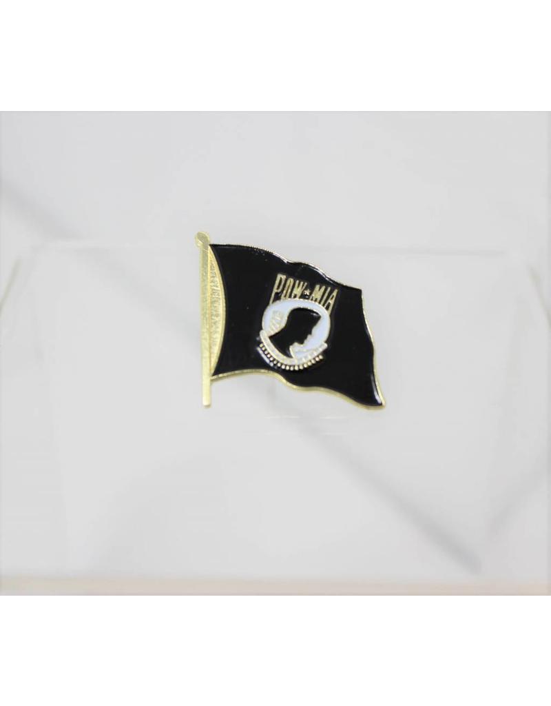 POW/MIA wavy flag pin