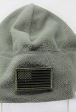 Fleece Blank Hook and Loop Cap