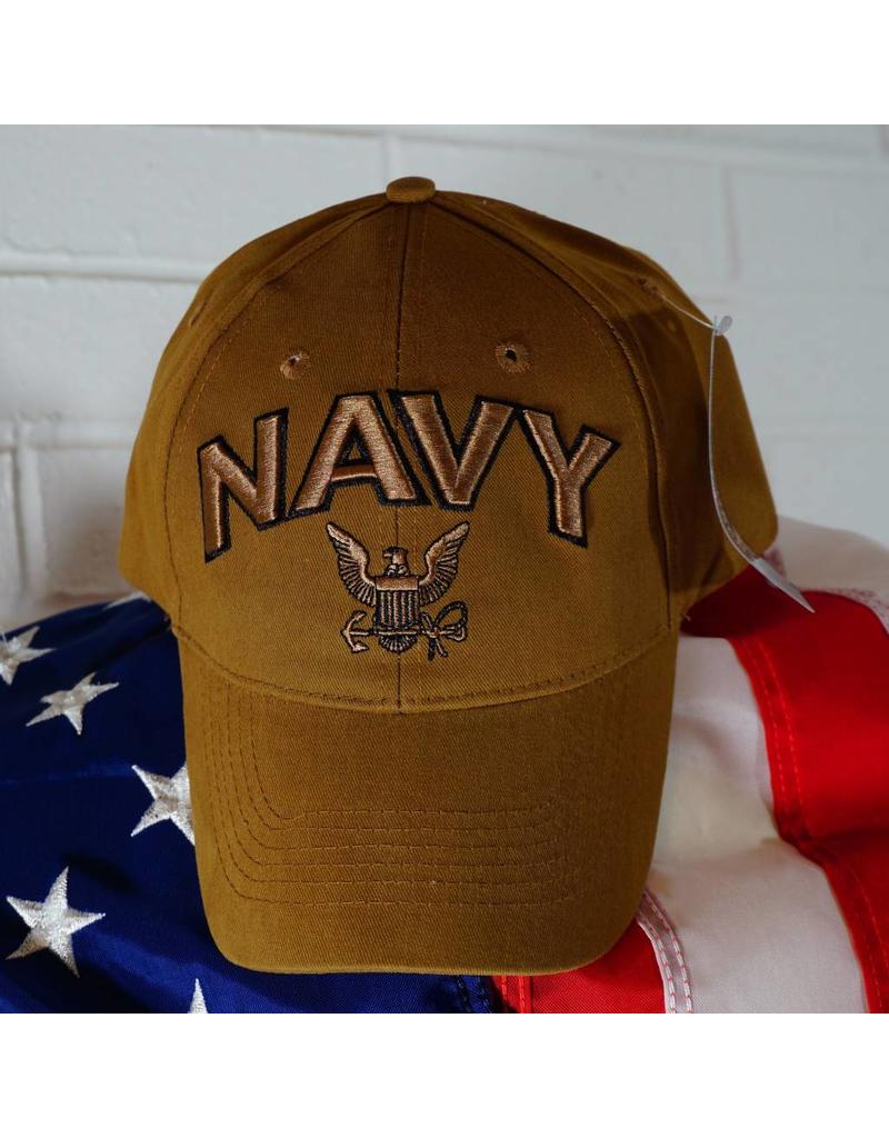 Navy Logo Baseball Cap