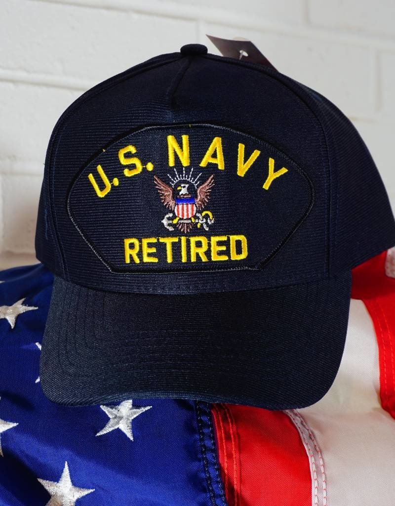 Navy Emblematic Patch Baseball Cap