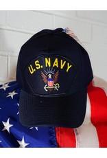 Navy Emblematic Patch Baseball Cap