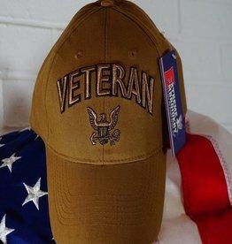 Navy Veteran Logo Baseball Cap
