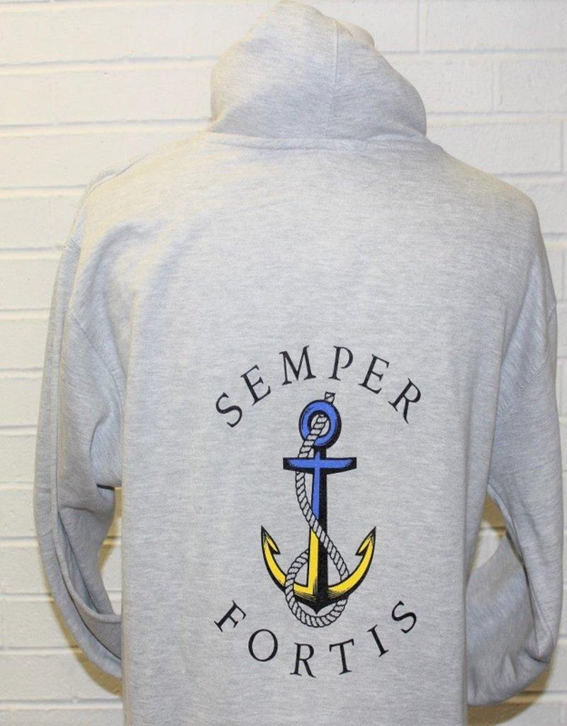 Navy Motto Hoodie