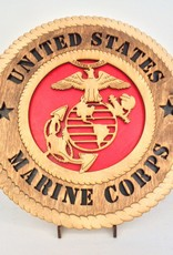 Marine Corp LG Plaque Locally Made