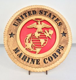 Marine Corp LG Plaque Locally Made