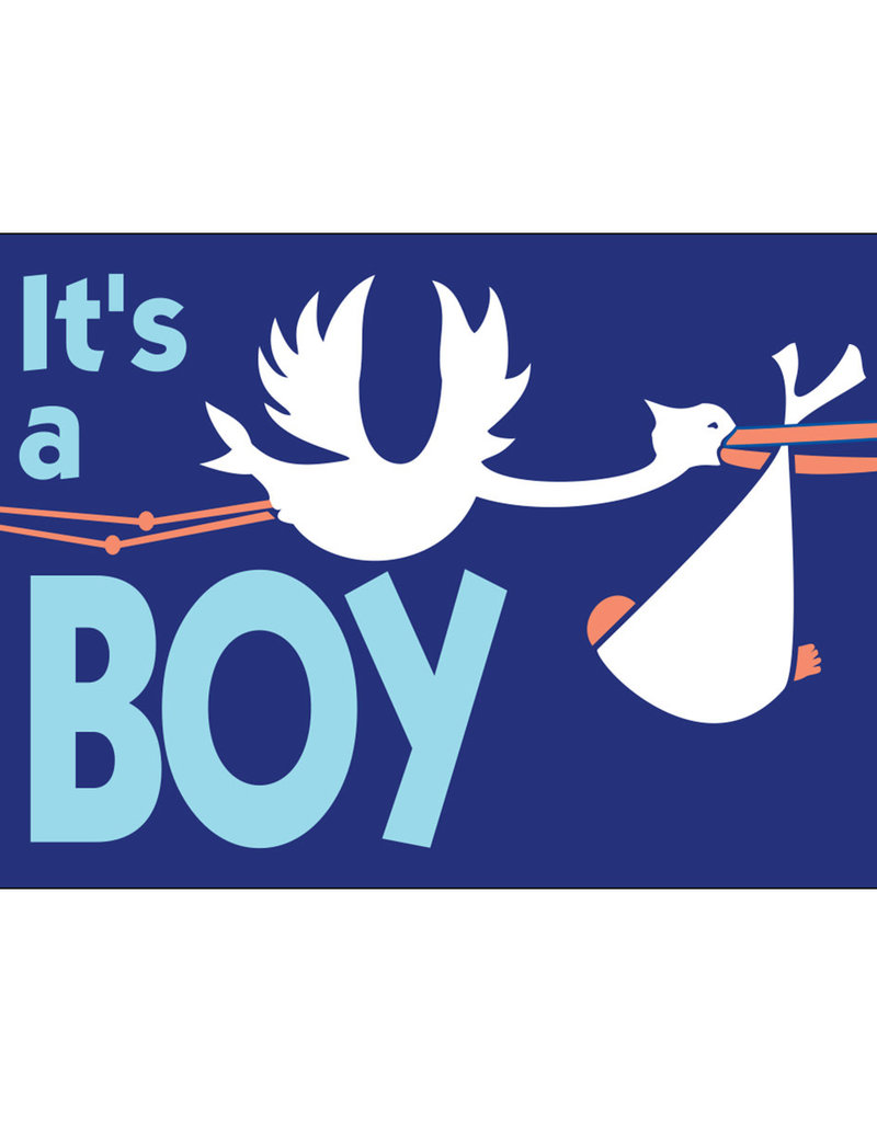 It's a Boy 3x5' Nylon Outdoor Flag