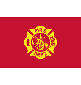 Eder Flag Fire Department 3x5' Nylon Flag