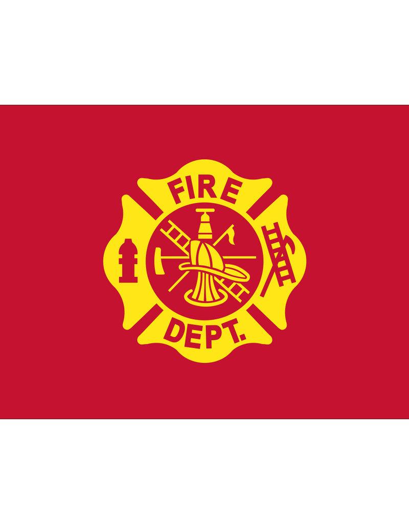 Eder Flag Fire Department 3x5' Nylon Flag