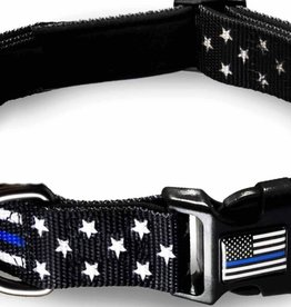 Thin Blue Line USA Thin Blue Line Pet Collar Medium