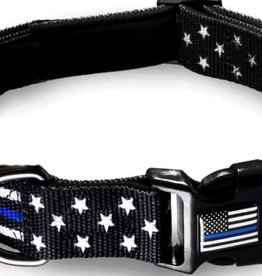 Thin Blue Line USA Thin Blue Line Pet Collar Small