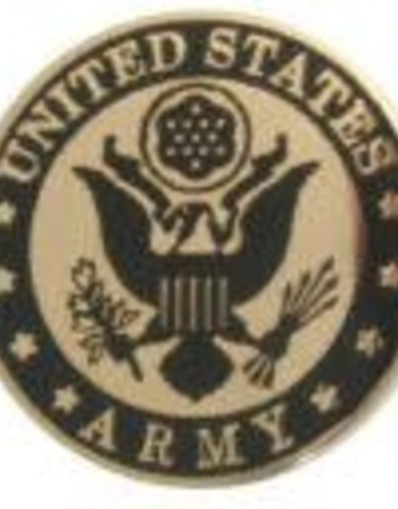 United States Army with Army Crest Lapel Pin