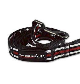 Thin Blue Line USA Thin Red Line Leash
