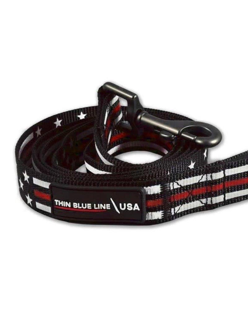 Thin Red Line Leash