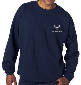 Mitchell Proffitt Air Force Sweatshirt w/Logo Blue Large