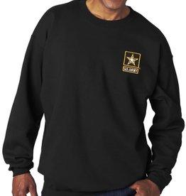 Army Sweatshirt w/Star Logo Black 2XL