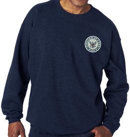 Mitchell Proffitt Navy Sweatshirt w/Logo Medium