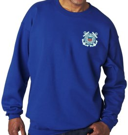 Coast Guard Sweatshirt w/Logo XL