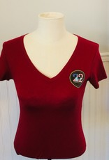 Stop 22 Women's V Neck TShirt 2XL