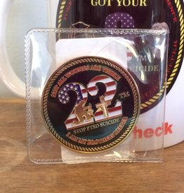 Stop 22 Challenge Coin