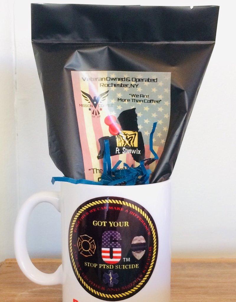 Stop 22 Coffee Mug w/Mission Coffee