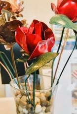 Marc's Studio DONATION Red Copper Rose