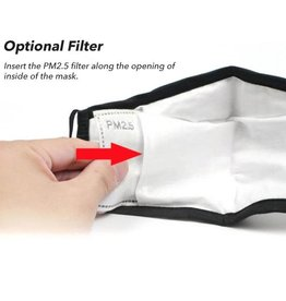 Thin Blue Line USA PM2.5 Activated Carbon Filters (10 Pk) Insert, for TL Masks