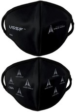 Space Force Crest and Allover 2 Pack Face Masks