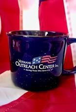 Imprintable Solutions VOC Logo 13 oz Ceramic Mug, Blue