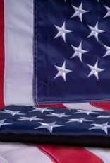 Cotton Casket Flag 5 x 9.5'