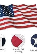CTI 3x5 USA Polyester Flag Patriarch (CTI)