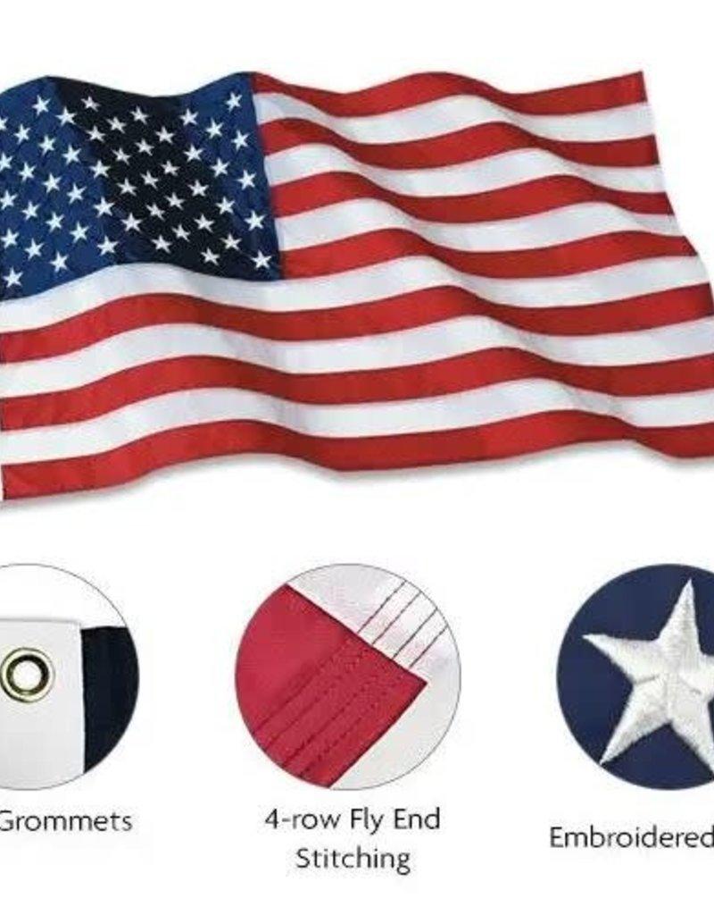 CTI USA Polyester Flag (Patriarch) (CTI) 5x8