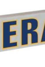 "Mitchell Proffitt VETERAN with U.S. Navy Crest 15.5""x2.5"" Wood Sign"