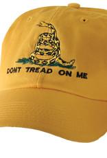 Don't Tread on Me Baseball Cap- Yellow