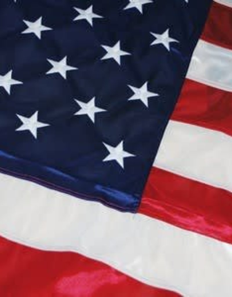 USA Tricot Knit Polyester (Duratex) Flag