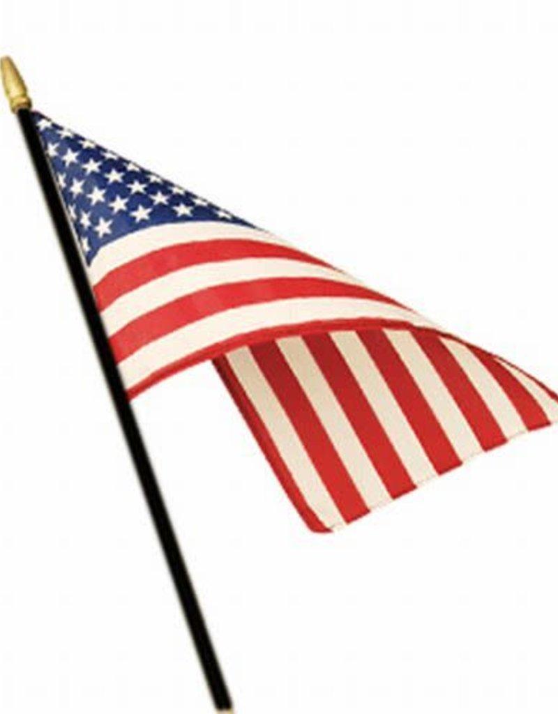 USA Valprin Classroom Stick Flag