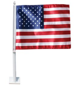 USA Polyester Complete  Auto Window Flag Set
