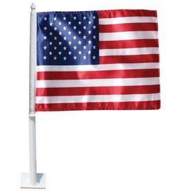 USA Polyester Complete  Auto Window Flag Set