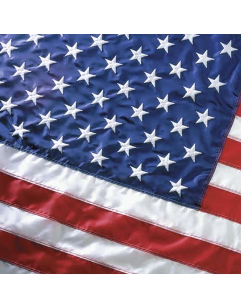 USA Burial Casket Flag 5x9.5' Nylon