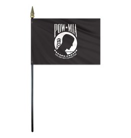 POW MIA Endura Gloss Stick Flag