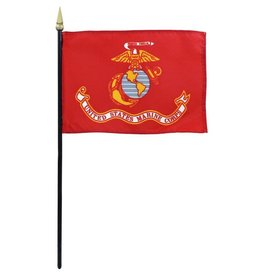 USMC Endura-Gloss Stick Flag