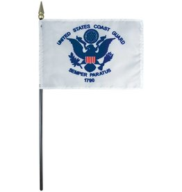 Coast Guard Endura-Gloss Stick Flag