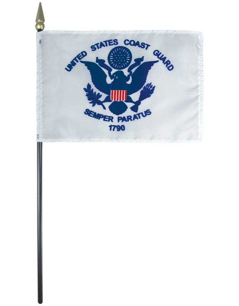 Coast Guard Endura-Gloss Stick Flag