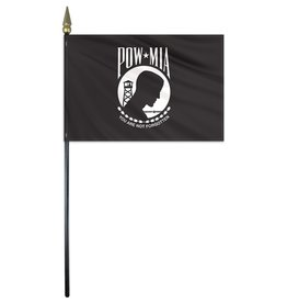 "POW MIA Endura-Poly 12x18"" Stick Flag"