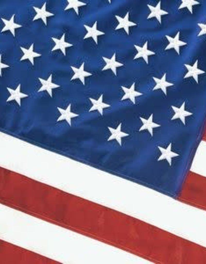 Cotton USA Burial Casket Flag 5x9.5'